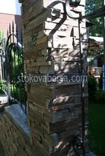 огради от декоративен камък тип сух зид