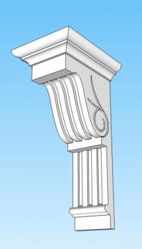 Фасадни профили с декорация и апликация
