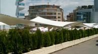 Мобилни градински тенти