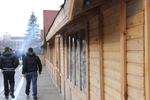 изработка на дървен търговски павилион до 9 кв.м