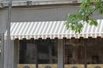 сенник за магазин от акрилен плат