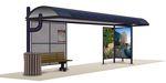Проектиране и изработка на навес за спирка
