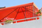 проектиране на сенници за тераси