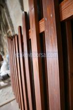 плътни дървени огради по поръчка