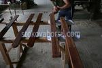 лакирани решетъчни дървени огради по поръчка