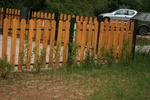 огради от дърво ниски по поръчка