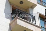 Парапети за балкони от ковано желязо