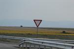 производство по поръчка на пътни знаци относно предимство