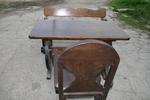 изработка на битова маса с една пейка и 1 стол по поръчка