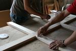 изработка на дървени порти