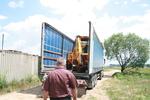 Строителна техника - превозване