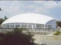 Хангар с овален покрив по поръчка
