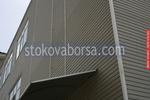 сайдинг облицовки на производствени сгради