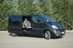 Извършване на трансфер с Opel Vivaro от летище Варна