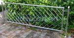 ограда от неръждаема стомана