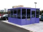 Изработка на охранителни кабини за КПП над 10кв.м.
