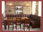 изкуствено състарени маси и столове