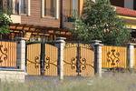 фирма за плътна ограда от ковано желязо