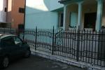 решетъчна ограда от ковано желязо