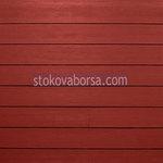 червена винилова облицовка по поръчка