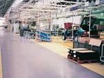 Индустриални настилки за автосервизи