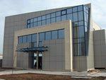 окачена фасада от алуминиеви панели