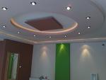 окачен таван от гипсокартон