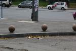 бетонови антипаркинг топки
