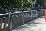 решетъчна метална ограда от метален профил по поръчка