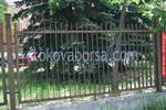 решетъчна метална ограда