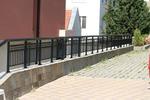 метална ниска ограда от метален профил