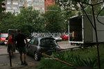 разтоварване на товари от камион