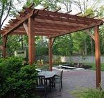 дървени перголи за градината по поръчка