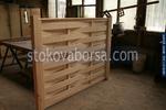 дървени огради от чам с оградни пана 200x150см