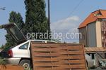 дървени огради от чам с оградни пана 200x80см