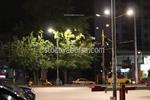 Метален стълб за улично осветление по поръчка
