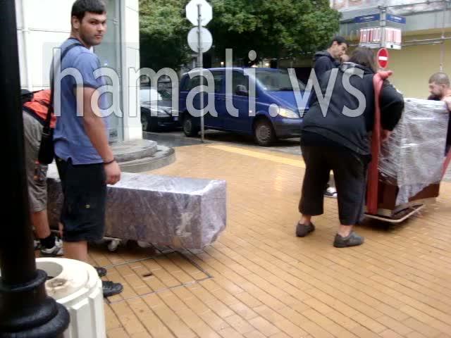 премествания на мебели с опаковане и съхранение в страната