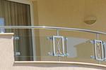 парапети за тераси от инокс и стъкло по поръчка