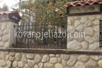 зидани огради от ковано желязо