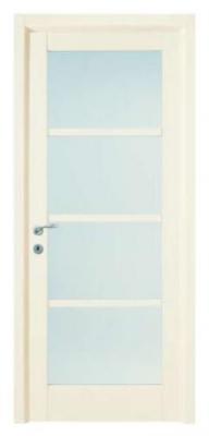 Масивни врати със стъкло и ламинат
