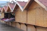 Дървена сергия