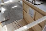 Индивидуален проект за изработка на будка от дърво