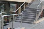 парапети за стълбища от алуминии по поръчка