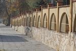метални огради на зидана основа по поръчка